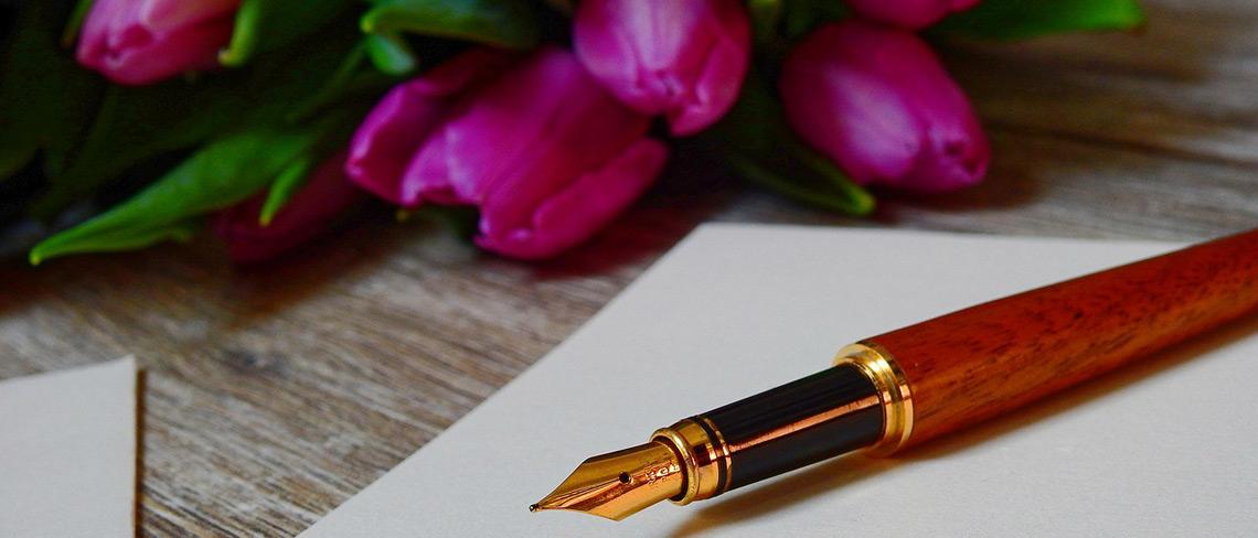 Drei Tipps, die dabei helfen einen romantischen Brief an den Ex-Partner zu verfassen