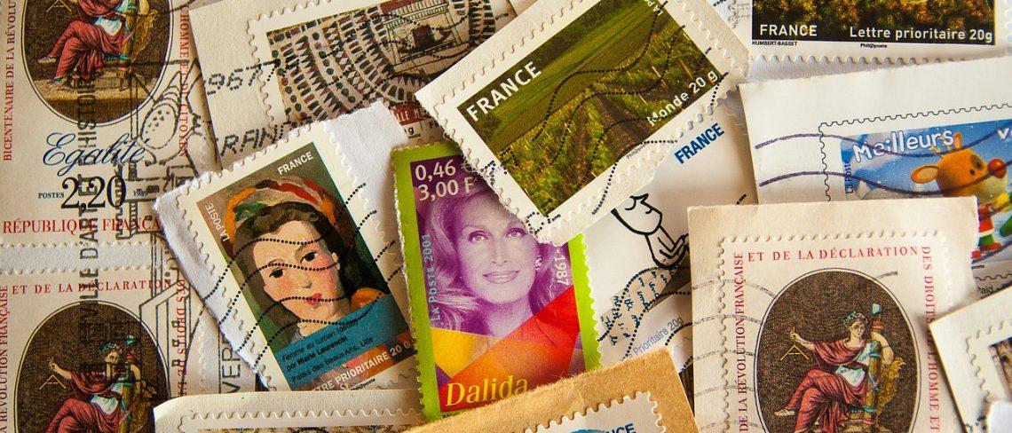 Die Geschichten der Briefmarke