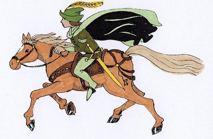 Früher mit Pferd, heute mit Auto - Boten im Laufe der Geschichte