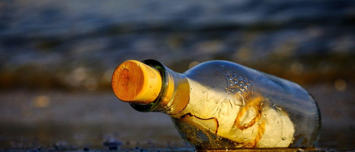 Die Flaschenpost - Geschichte und Trend