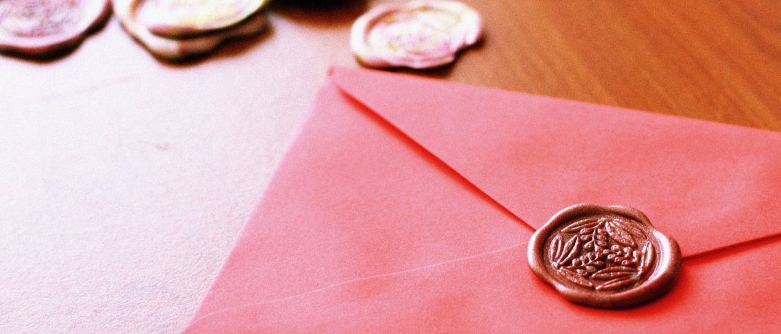 Briefe den persönlichen Flair verleihen